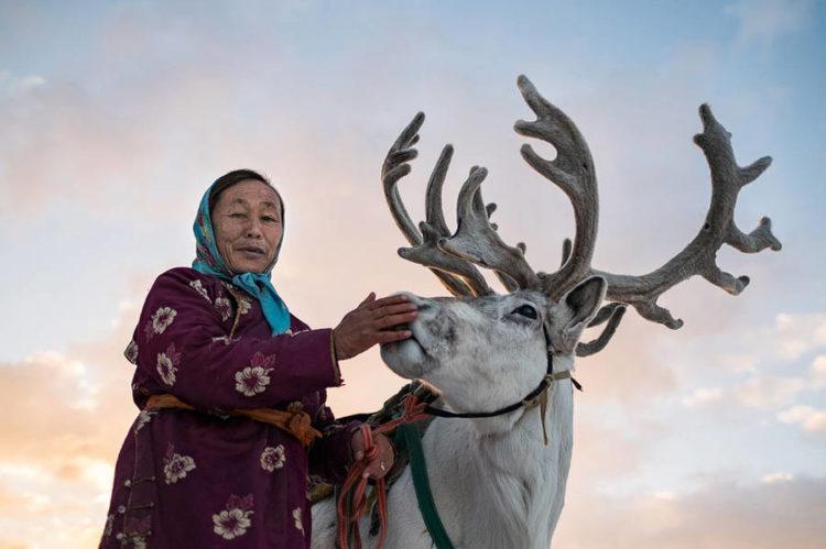 © Joel Santos, Éleveurs de rennes du mont Altaï (Mongolie)