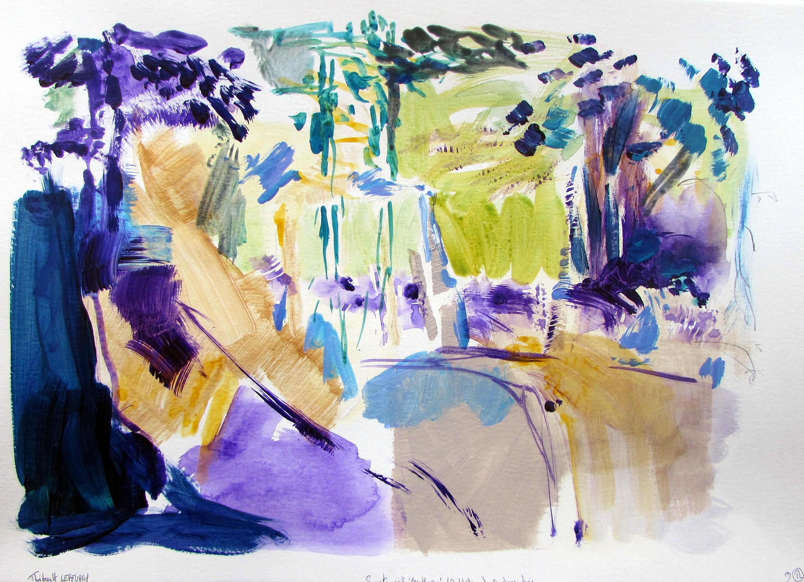 Huile ou acrylique : pour quelle peinture