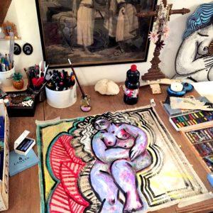 Interview artiste • Dans l'atelier de Laura Vallée Rémond
