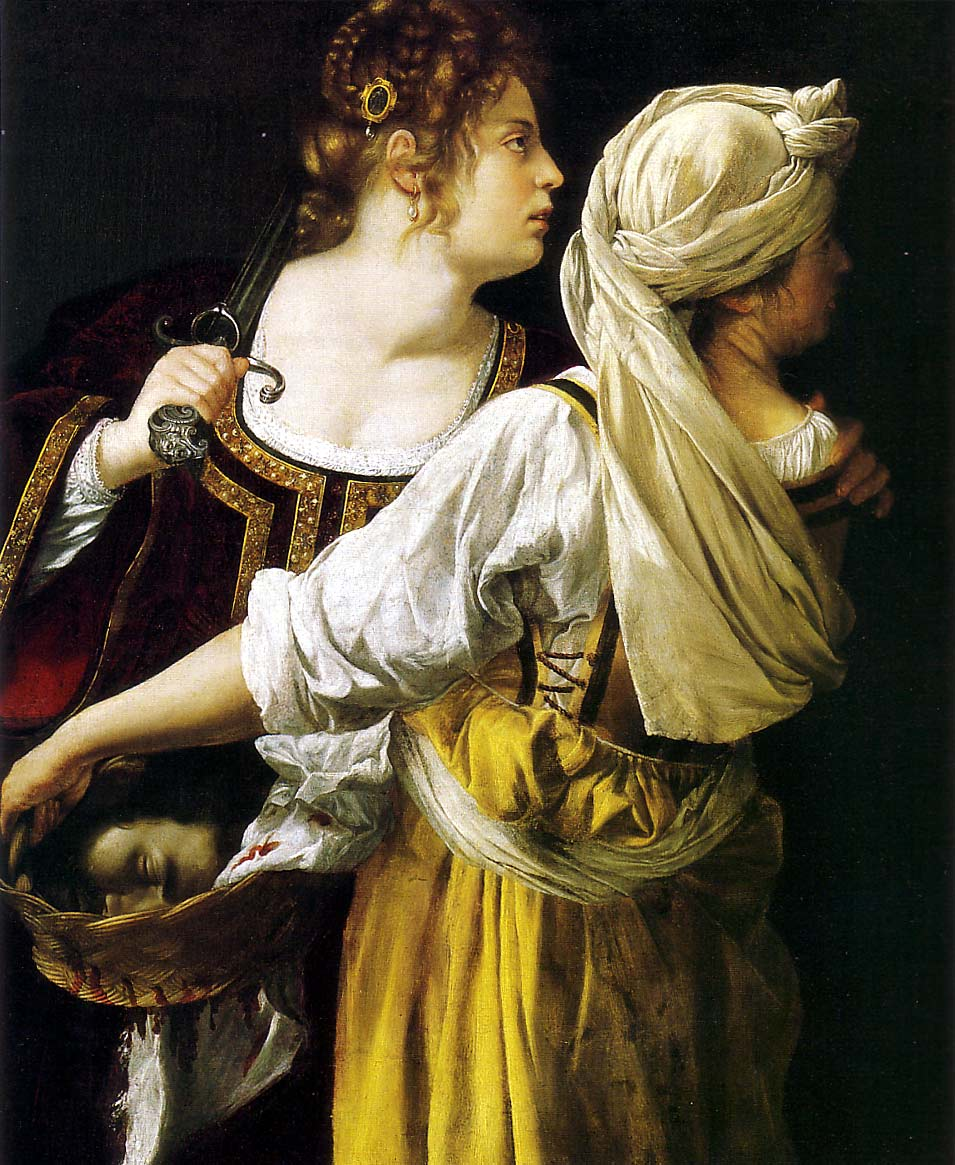 Artemisia Gentileschi, Judith et sa servante (1912-1913)