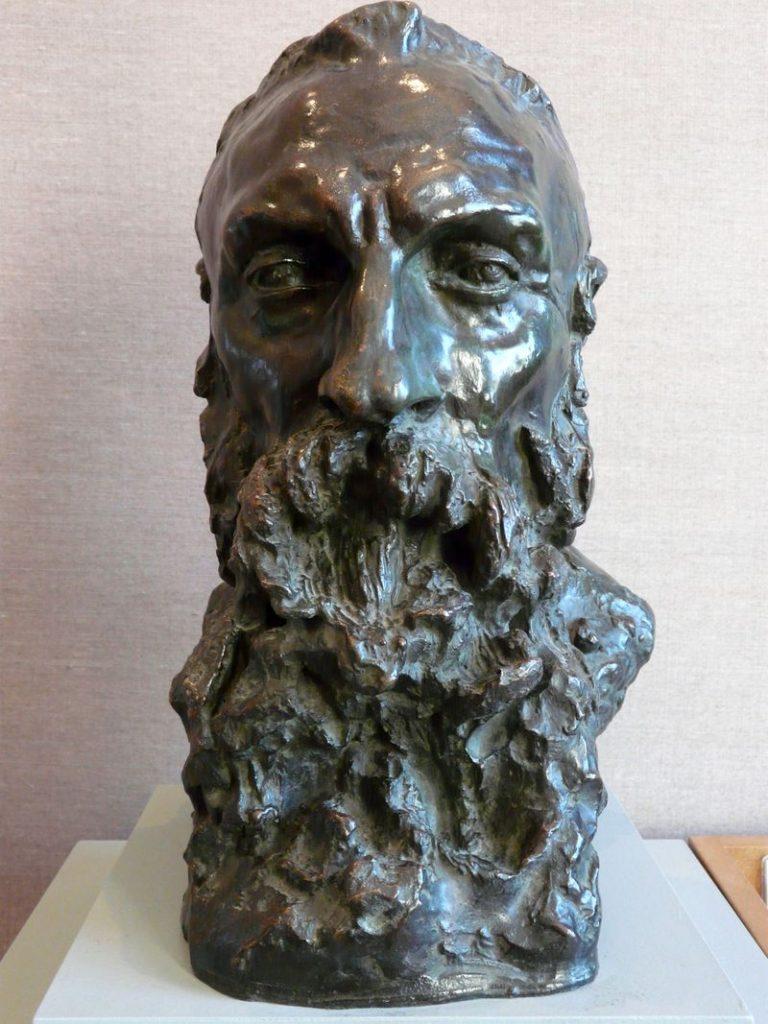 Camille Claudel, Buste d'Auguste Rodin (bronze, 1892)