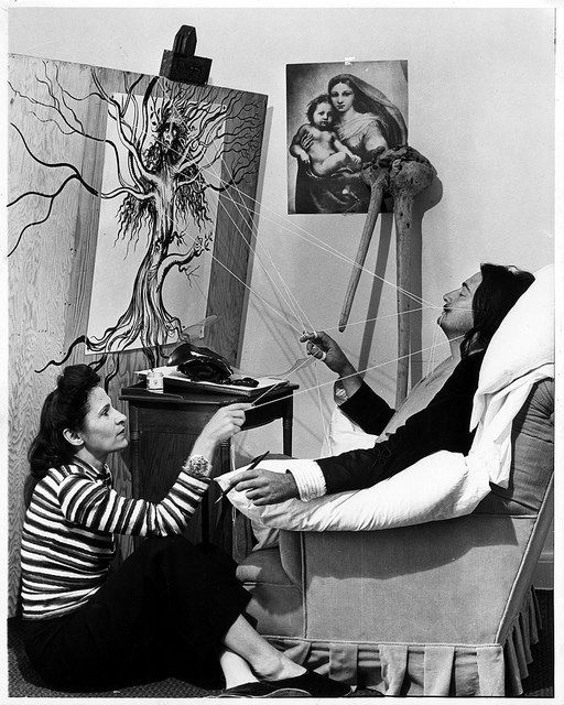 Salvador et Gala Dali (New York, 1947)