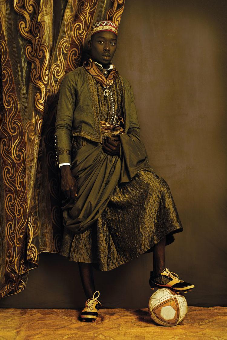 Omar Victor Diop, Série Diaspora