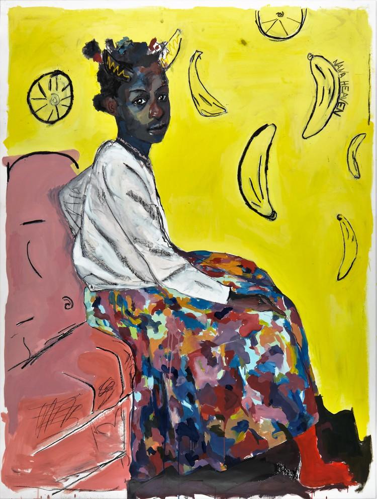 Kudzanai-Violet Hwami, Ego in red socks (2016)
