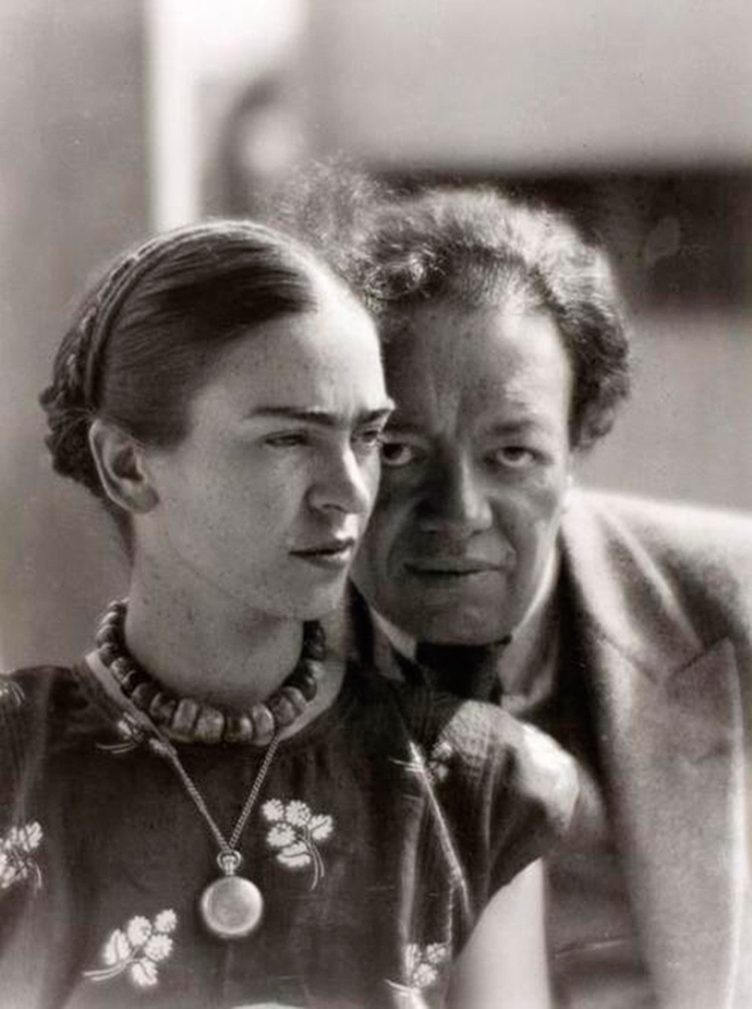 Frida Kahlo et Diego Rivera (Mexique, 1933)
