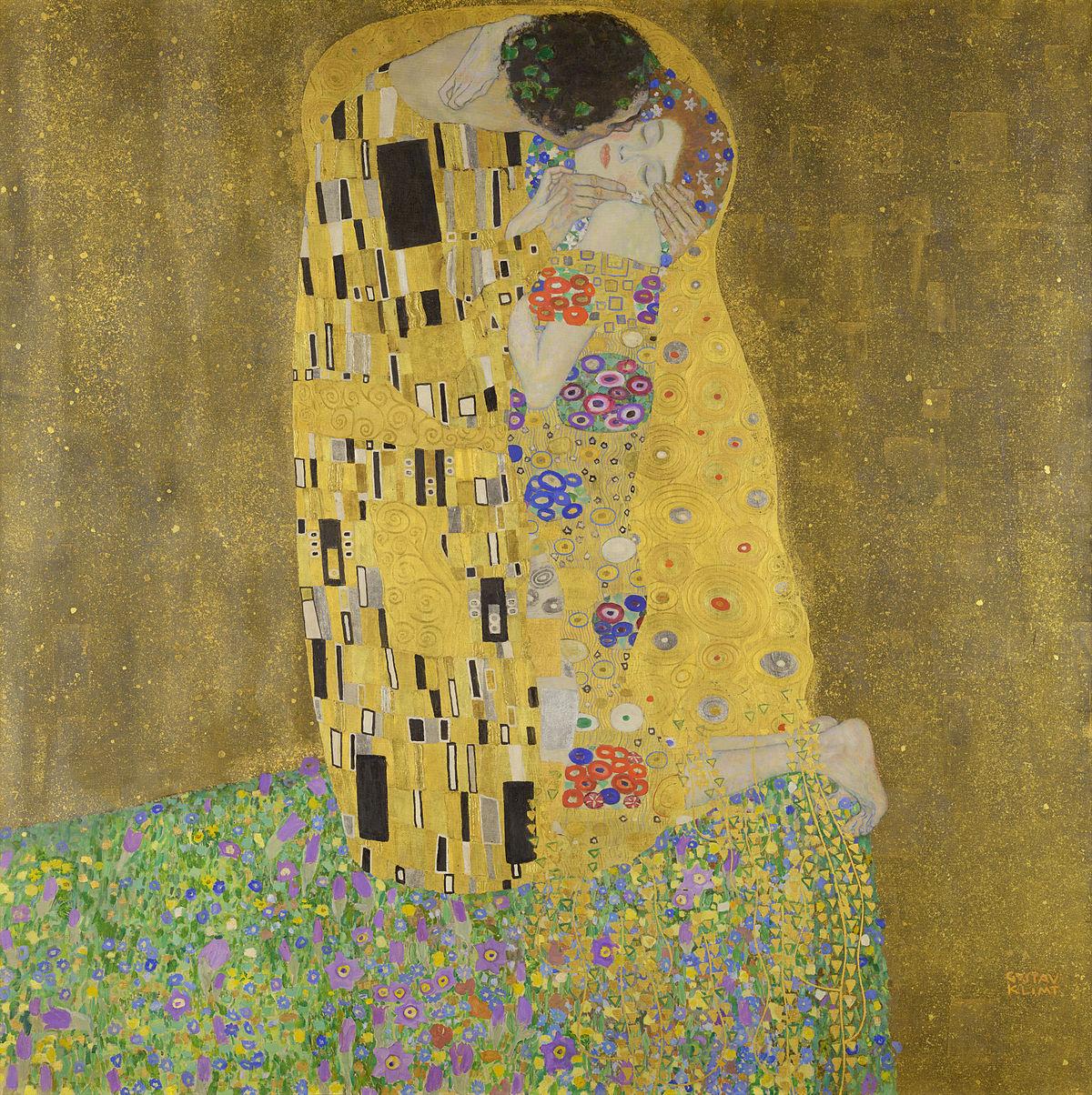 Gustav Klimt, Le Baiser (1907-1908)