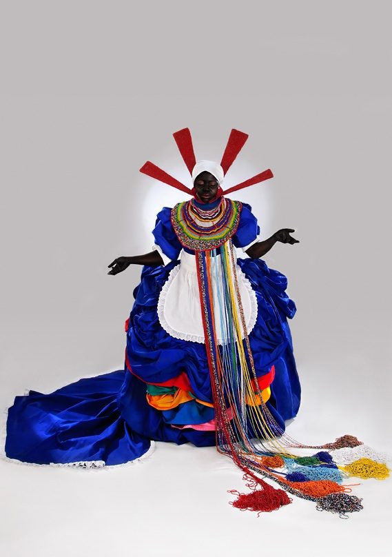 Mary Sibande, Her Majesty Queen Sophie (2010, Courtesy of Gallery Momo, Johannesburg)