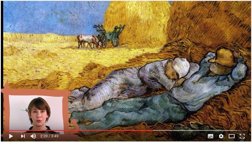 NaRT - 3 coups de pinceau : Van Gogh