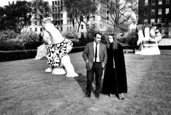 Niki de Saint Phalle et Jean Tinguely (1968)