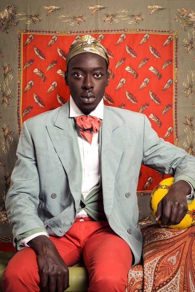 Omar Ibn Said, 2015, Série Diaspora, © Omar Victor Diop, Courtesy MAGNIN-A Gallery, Paris