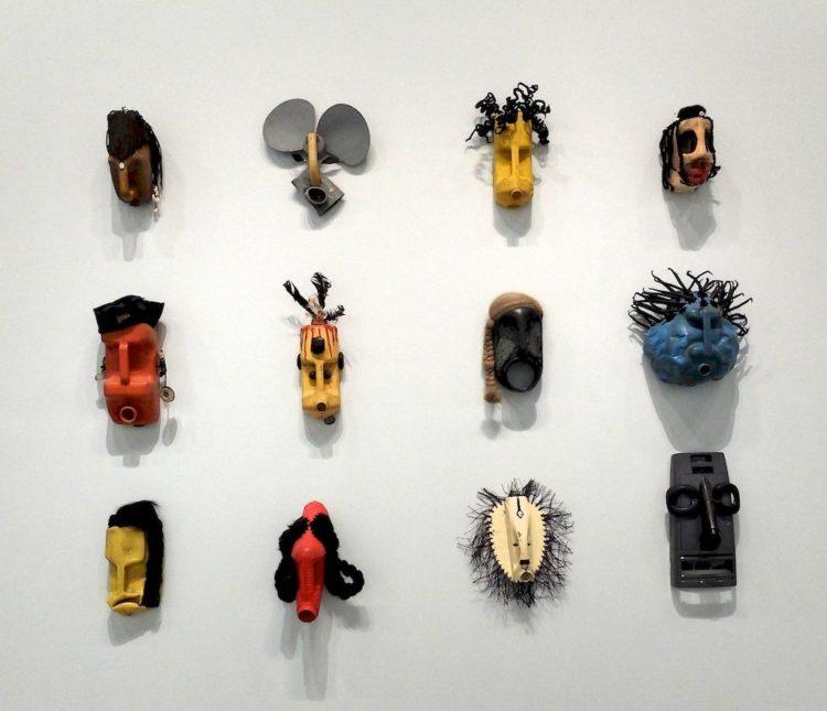 Romuald Hazoumé, Exposition des masques au Grand Palais
