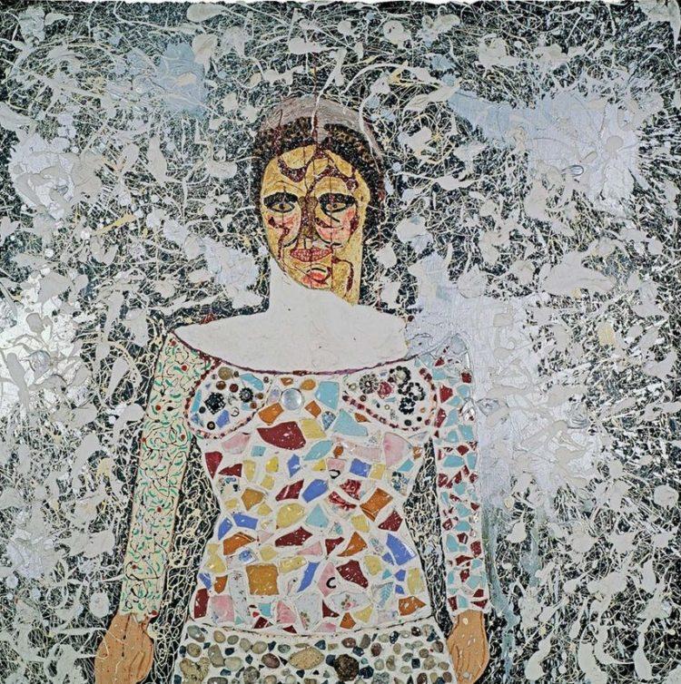 Niki de Saint Phalle, Autoportrait (vers 1958-1959)