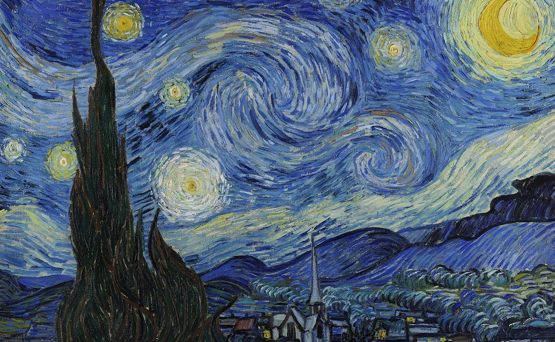 Canvassing the Masterpieces: The Starry Night by Vincent van Gogh