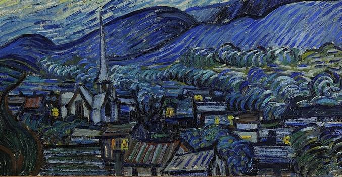 La Nuit étoilée de Van Gogh