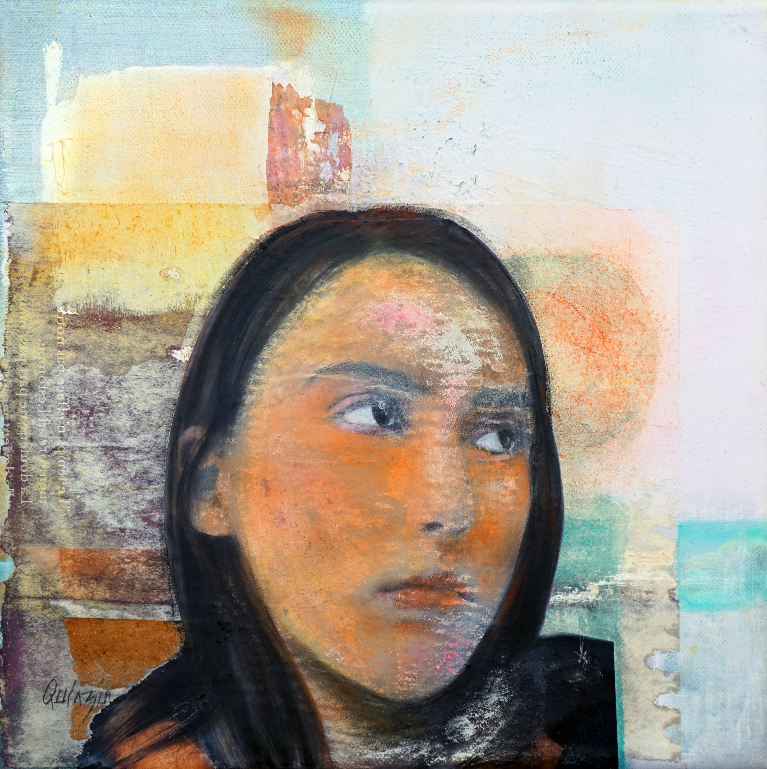 Marianne Quinzin, Camille (technique mixte, 2017)