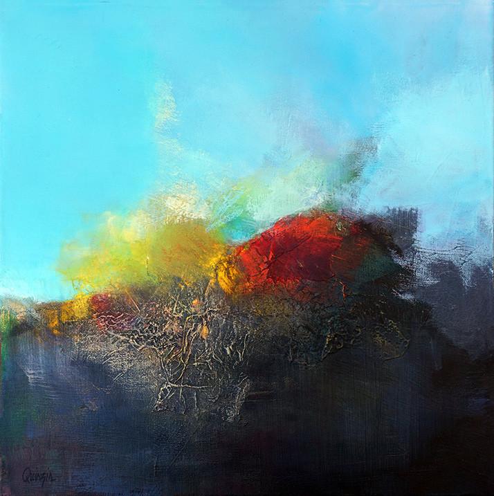 Marianne Quinzin, Les racines du ciel (technique mixte, 2017)