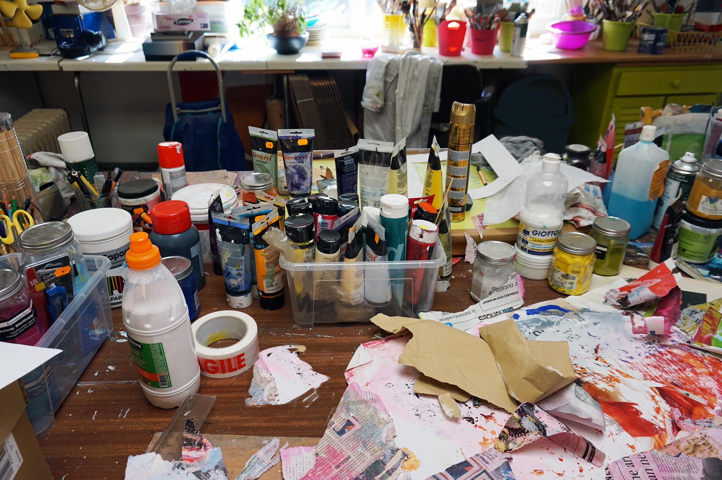 Atelier de Marianne Quinzin
