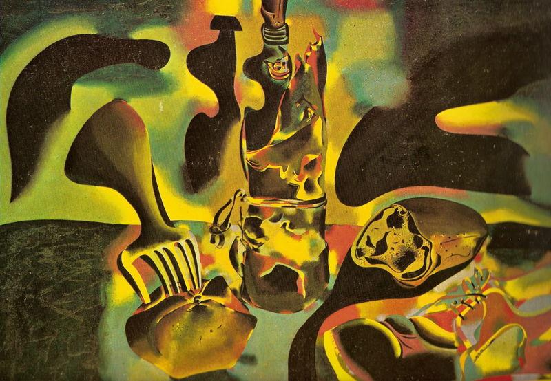 Joan Miró, Nature morte au vieux soulier (1937)