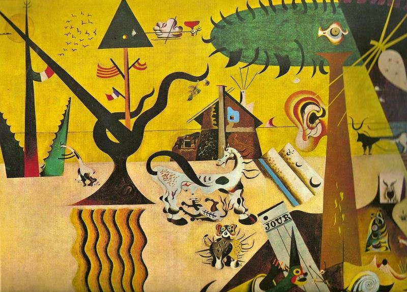 Joan Miró, La terre labourée (1923-24)