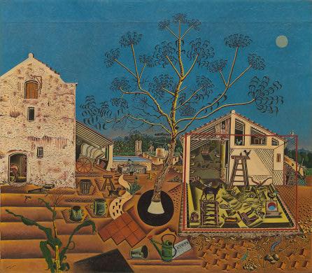 La Ferme, Joan Miró (huile sur toile, 1921-22) / via Wikimedia Commons