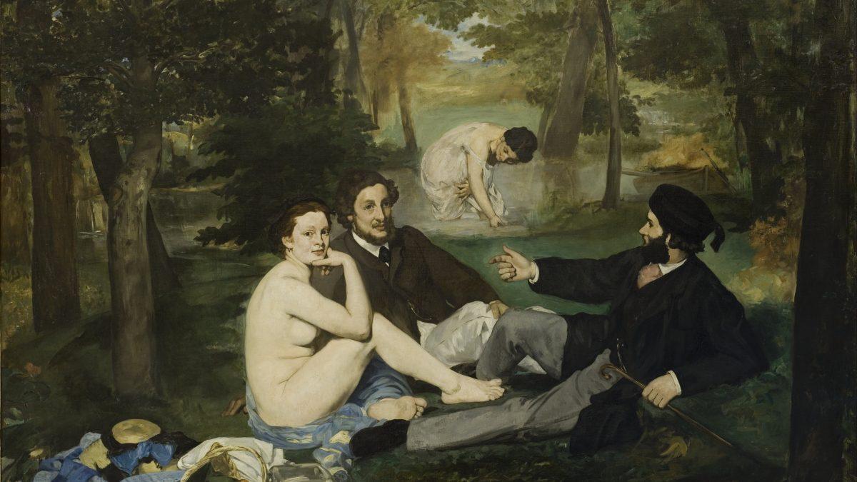 Canvassing the Masterpieces: Le Déjeuner sur l'herbe by Manet