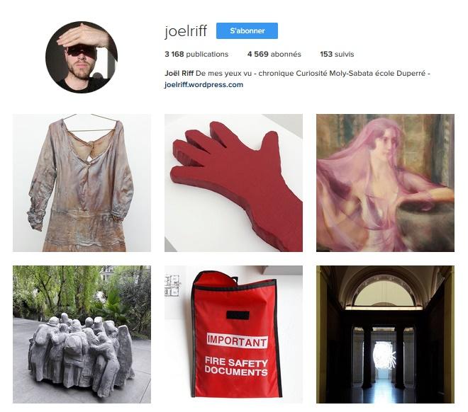 Extrait du compte Instagram de Joel Riff / © Joel Riff