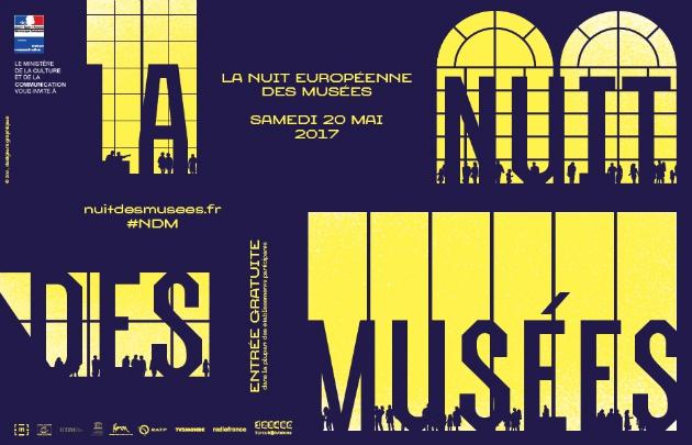 Affiche de la 13e édition de la Nuit européennes des Musées