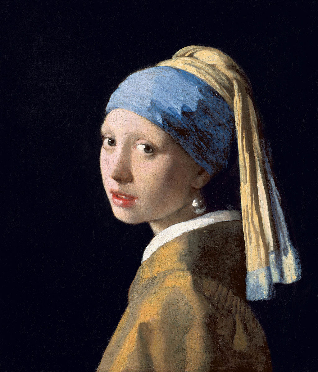 Johannes Vermeer, La jeune fille à la perle (1665)