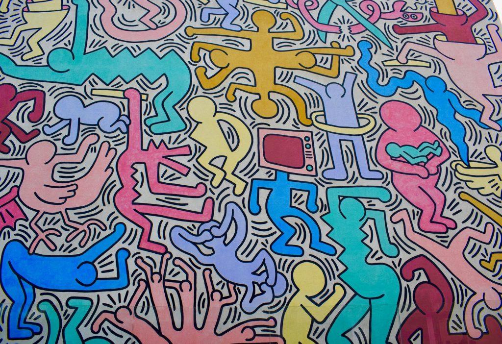 Connu keith-haring-berlin-wall - Le blog d'art contemporain de KAZoART BB44