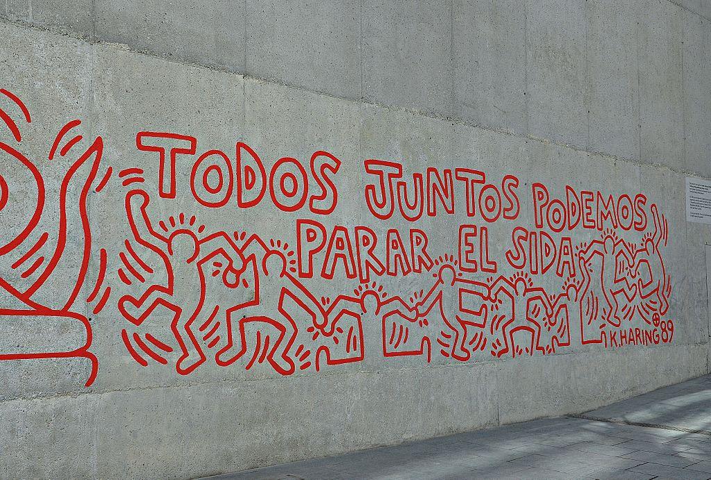 Keith Haring, Todos juntos podemos parar el sida