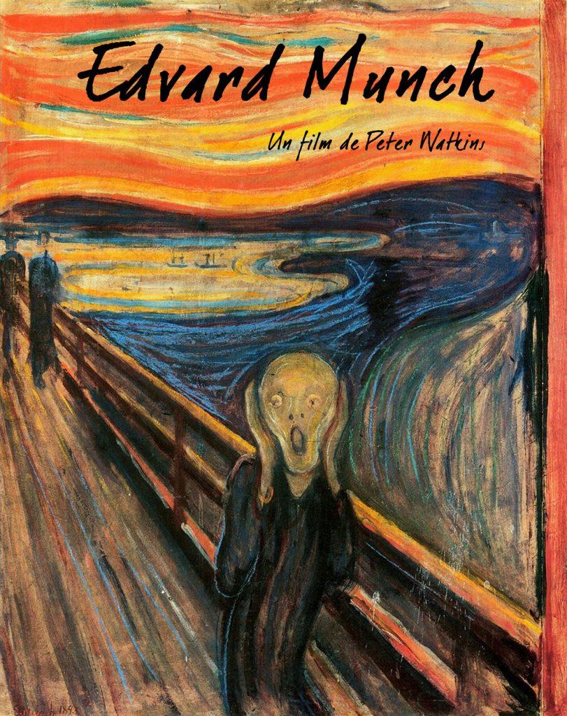 Affiche du film Edvard Munch, la danse de la vie (Peter Watkins, 1973)