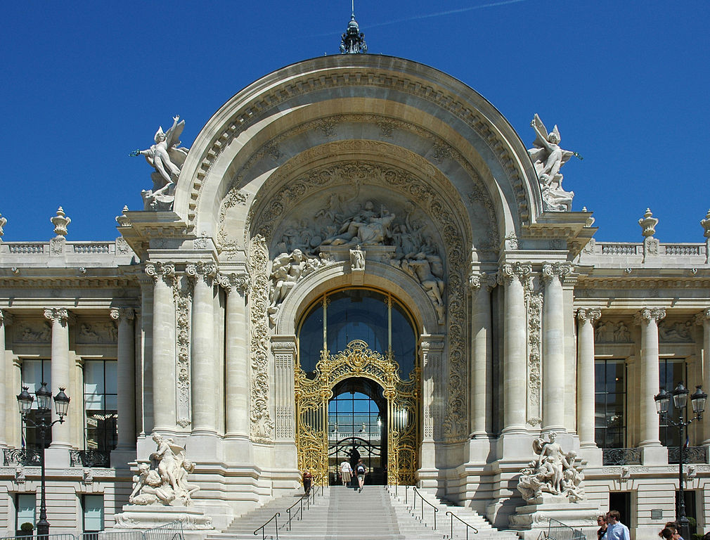 Entrée principale du Petit Palais à Paris