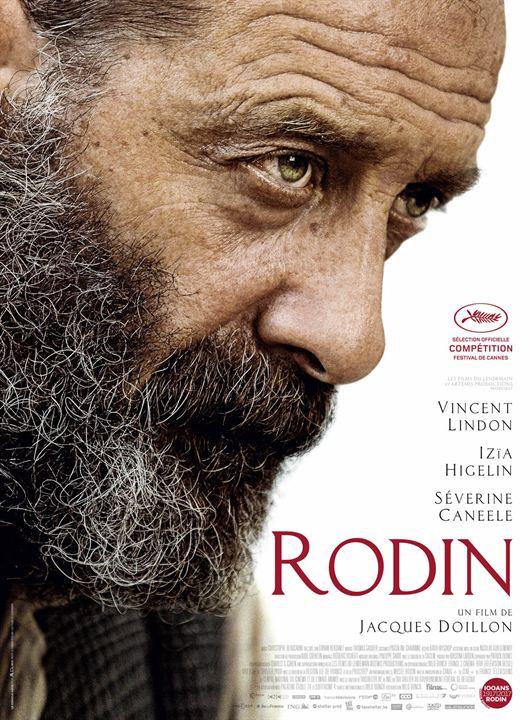 Affiche du film Rodin (Jacques Doillon, 2017)