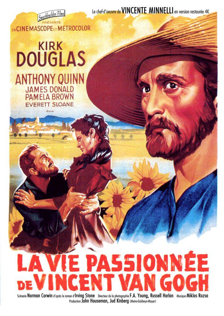 Affiche du film Vie passionnée de Vincent Van Gogh (Vincente Minnelli, 1956)