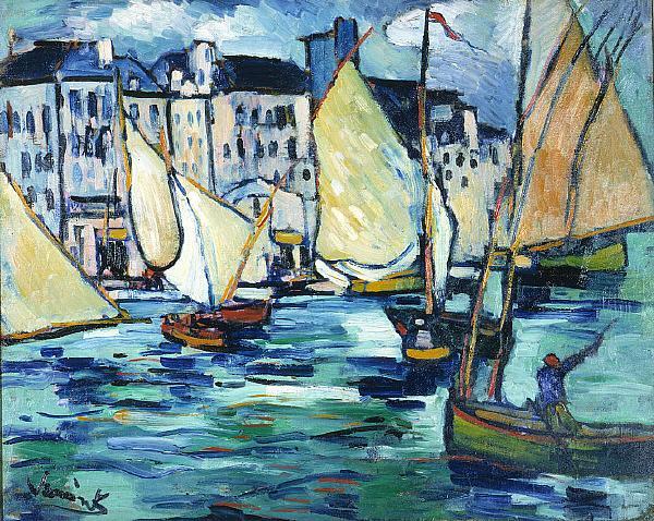 Maurice de Vlaminck, Le grand quai, 1906
