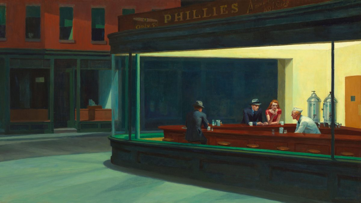 Canvassing the Masterpieces: Nighthawks by Edward Hopper