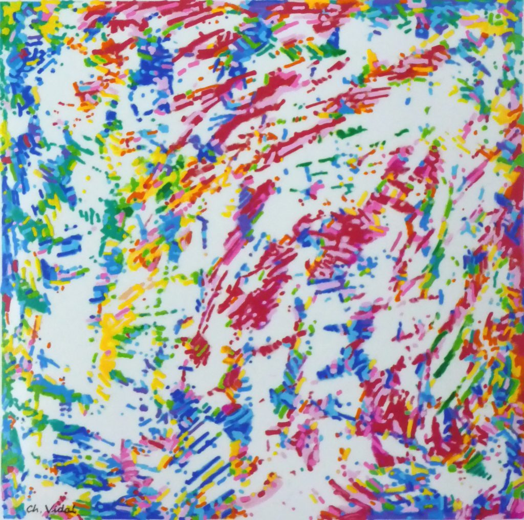 Christian Vidal, Génération Pollock 0.1