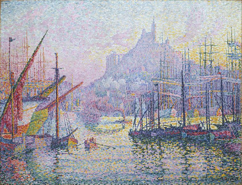 Paul Signac, Vue du Port de Marseille, 1905