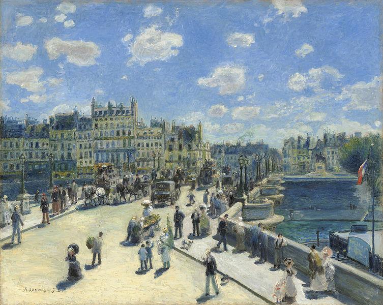 Renoir, Le Pont neuf, 1872