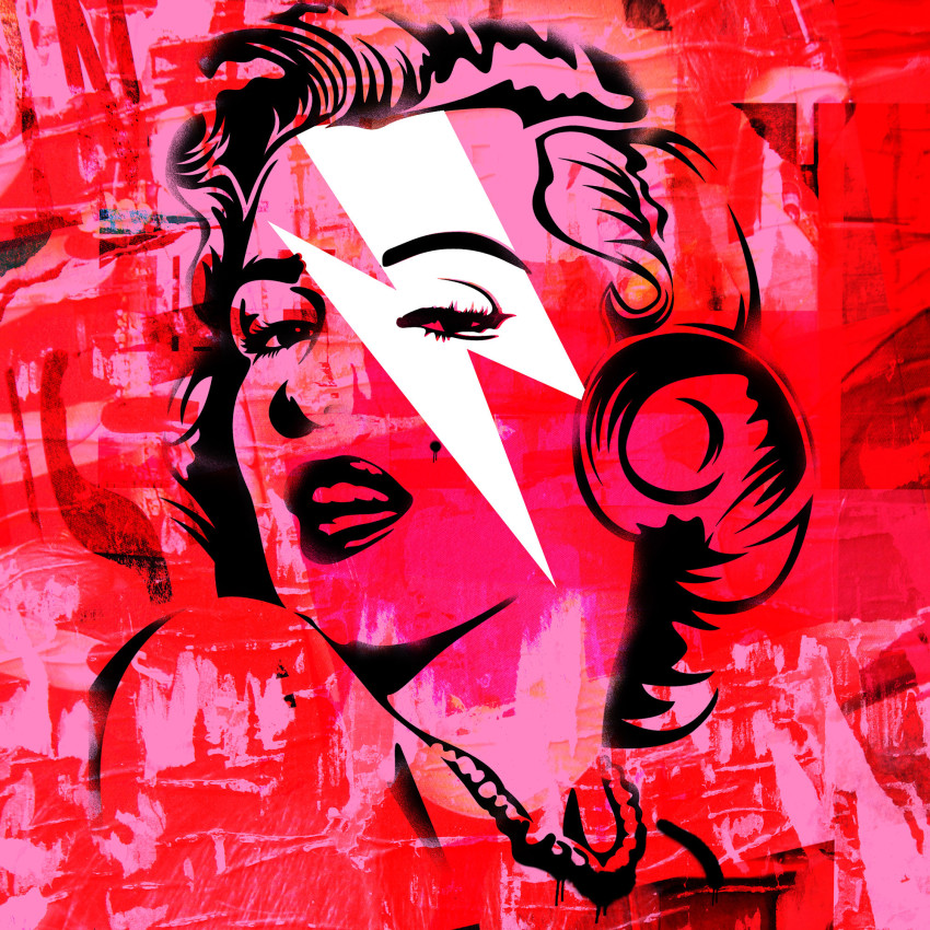 Morgan Paslier, Pink Marilyn Monroe stardust