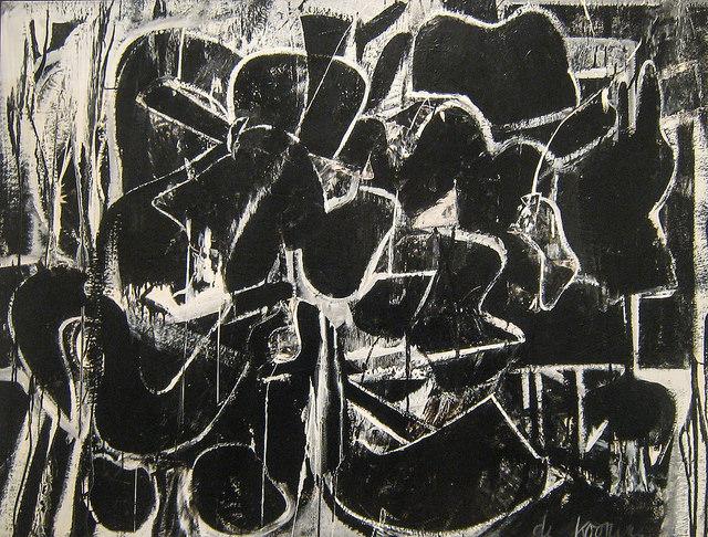 Willem de Kooning, Painting, 1948, MOMA de New York