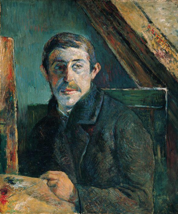 Paul Gauguin, Autoportrait (1885)