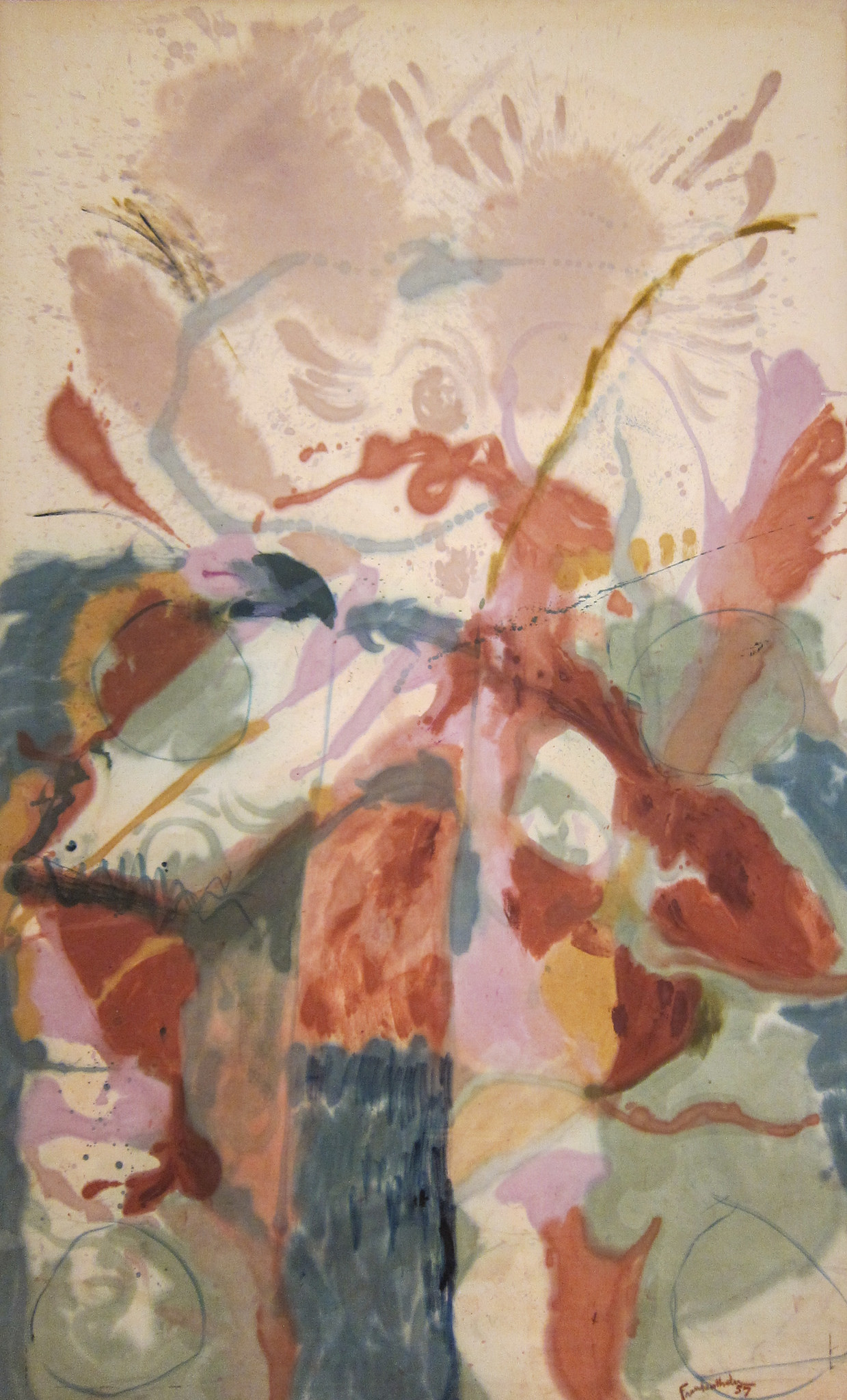 Helen Frankenthaler, Jacob's Ladder, 1957