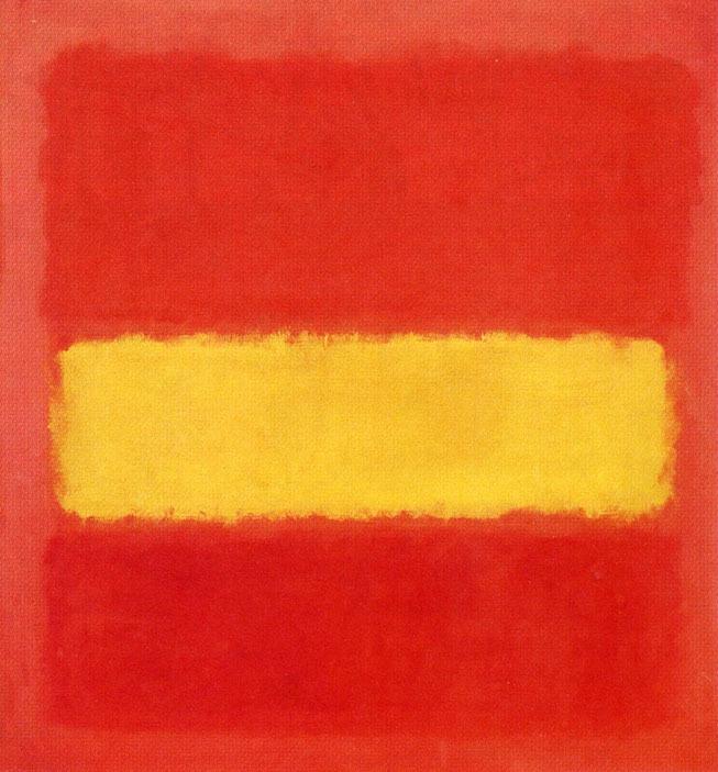 Mark Rothko, Bande jaune (Yellow Band)