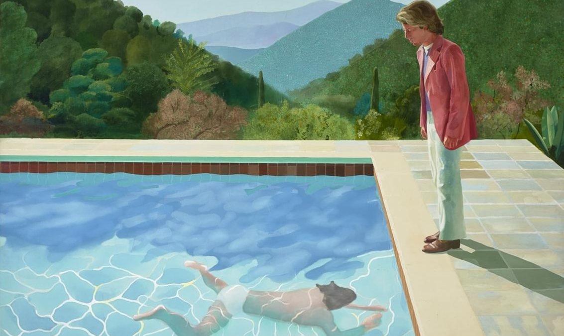 David Hockney, le plus californien des peintres British