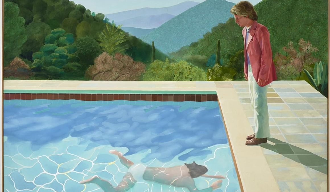 La Minute Arty : David Hockney