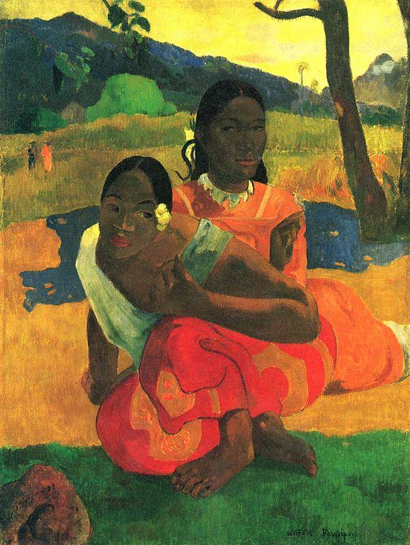 Paul Gauguin, Quand te maries-tu ? (huile sur toile, 1892)
