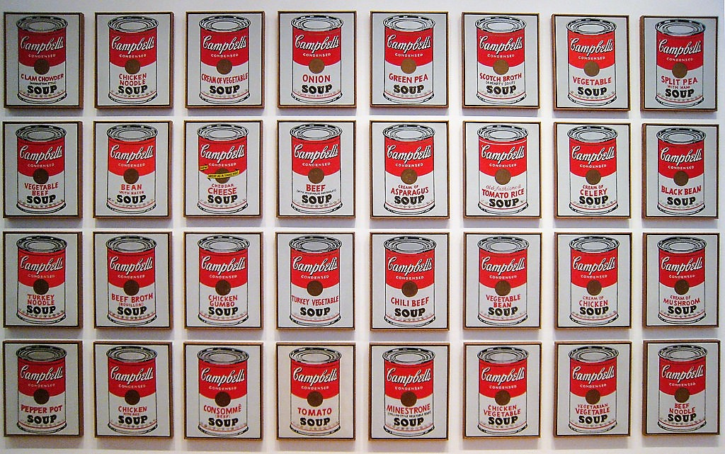 L'Oeuvre à la Loupe : Campbell's Soup Cans d'Andy Warhol