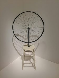 Roue à bicyclette de Marcel Duchamp