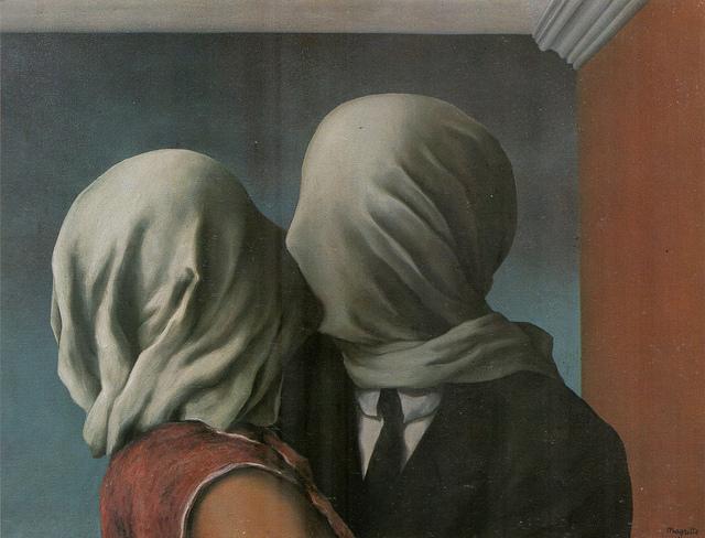 Magritte, Les Amants (1928)